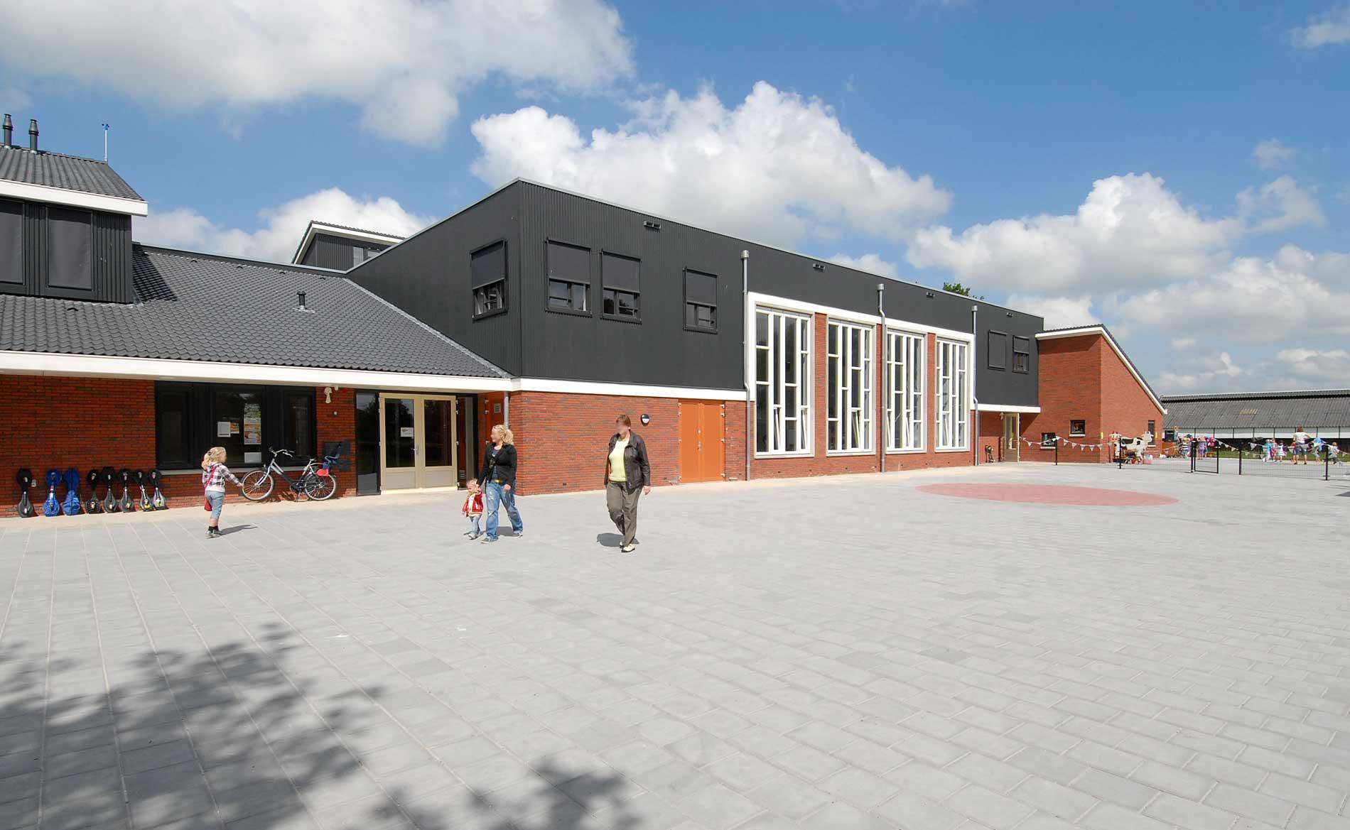 architect Brede school De Wijk Drenthe dorps onderwijs BBHD architecten