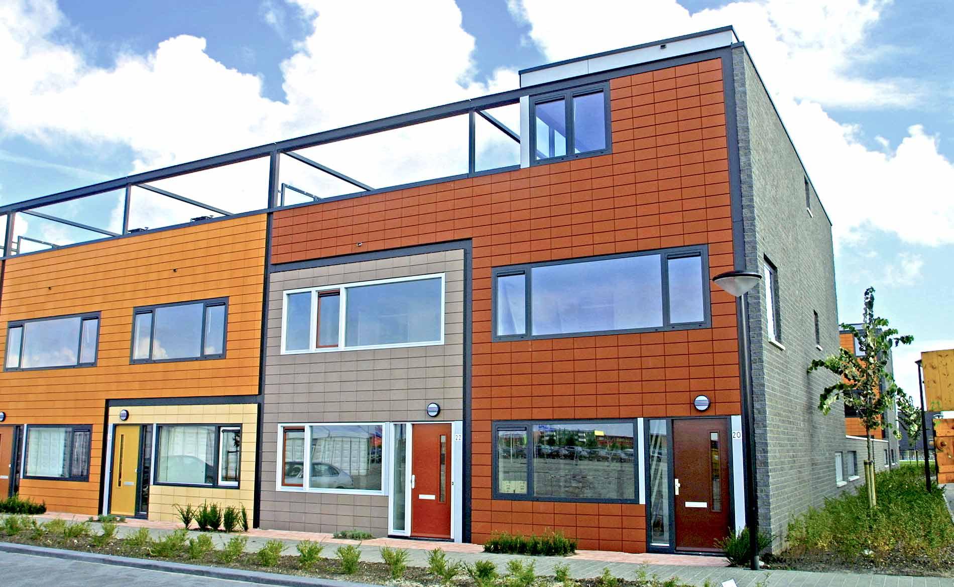 architect woningbouw Gewild wonen Almere gedifferentieerd wonen keuze BBHD architecten