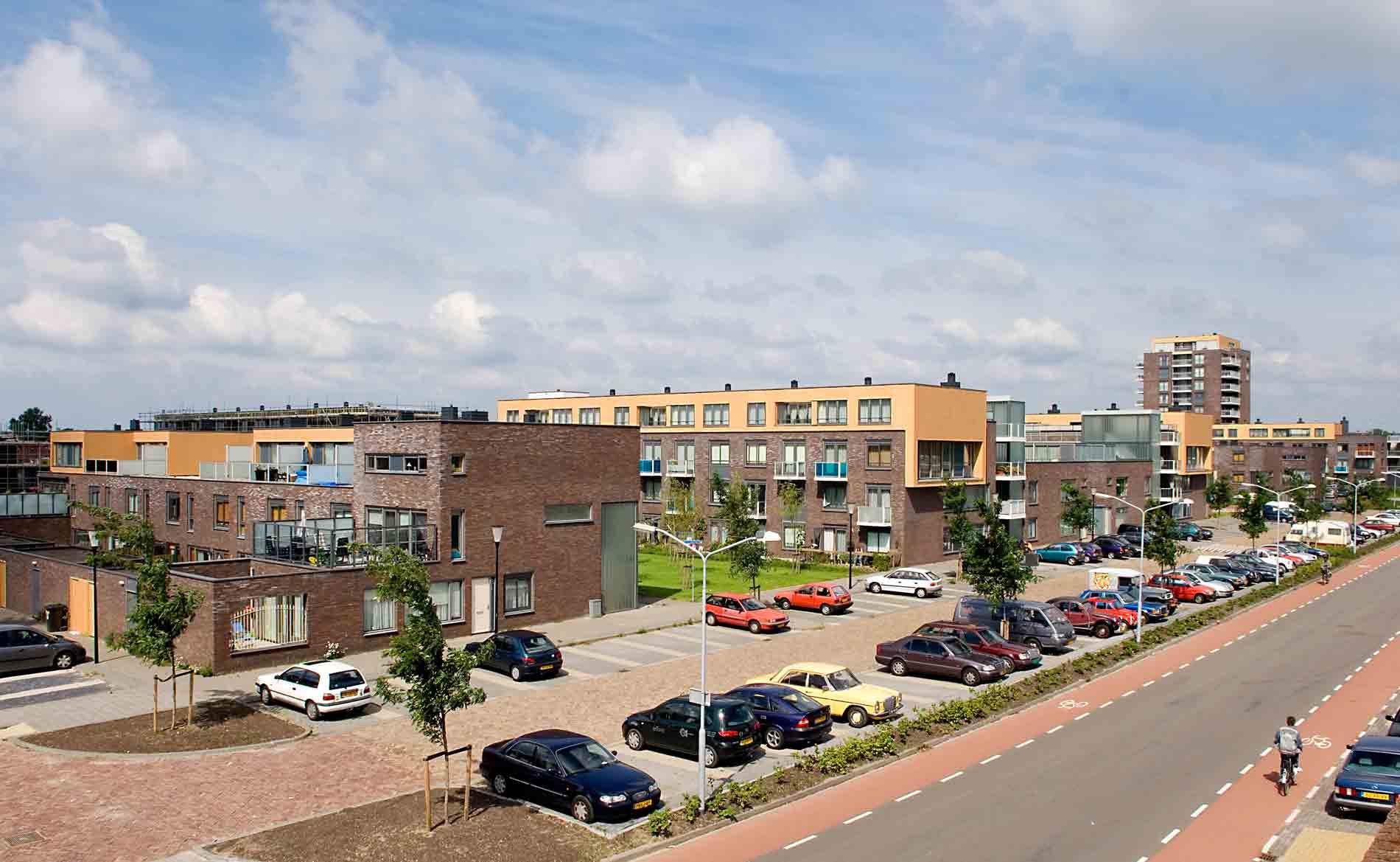 Prinsenhof Beverwijk Herstructurering wonen BBHD architecten