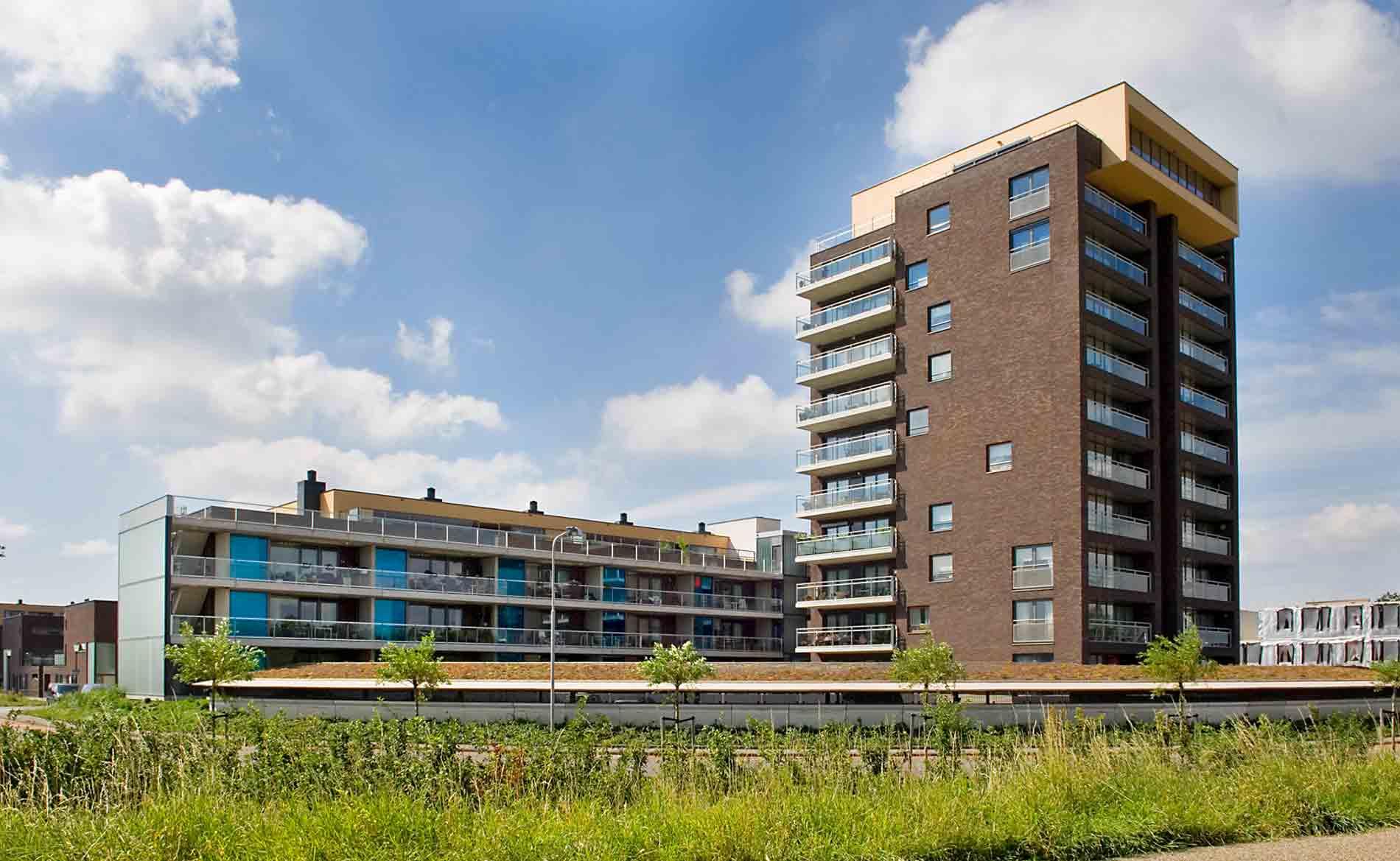architect woningbouw Prinsenhof Beverwijk Herstructurering wonen BBHD architecten