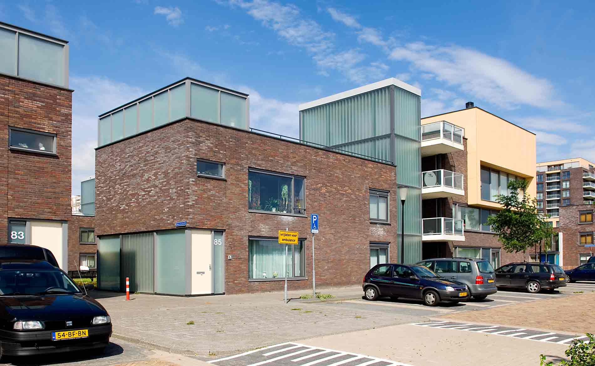 Prinsenhof Beverwijk Herstructurering wonen BBHD architecten Pré Wonen