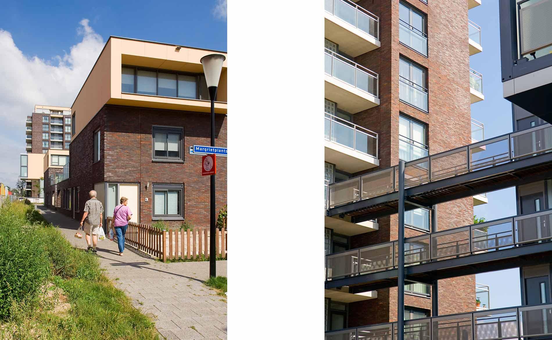 architect woningbouw Prinsenhof Beverwijk Herstructurering wonen BBHD architecten Pré Wonen