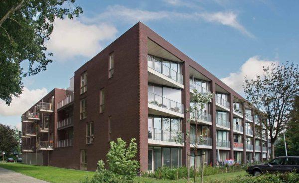 architect woningbouw architectuur Regioplein Schagen Zigzag appartementen 't Noord BBHD architecten