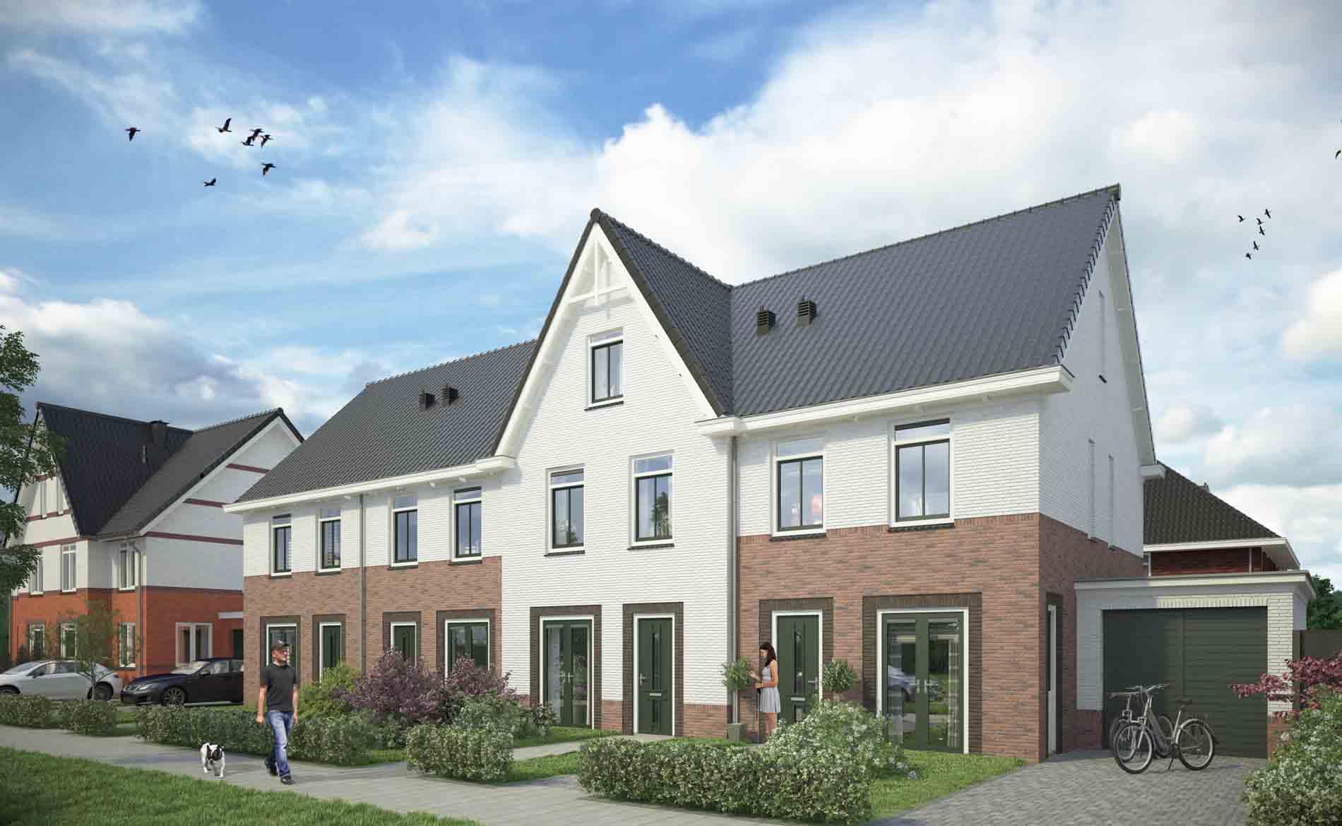 architect woningen woningbouw nieuwbouwwijk Reigersborg Hoogkarspel BBHD architecten