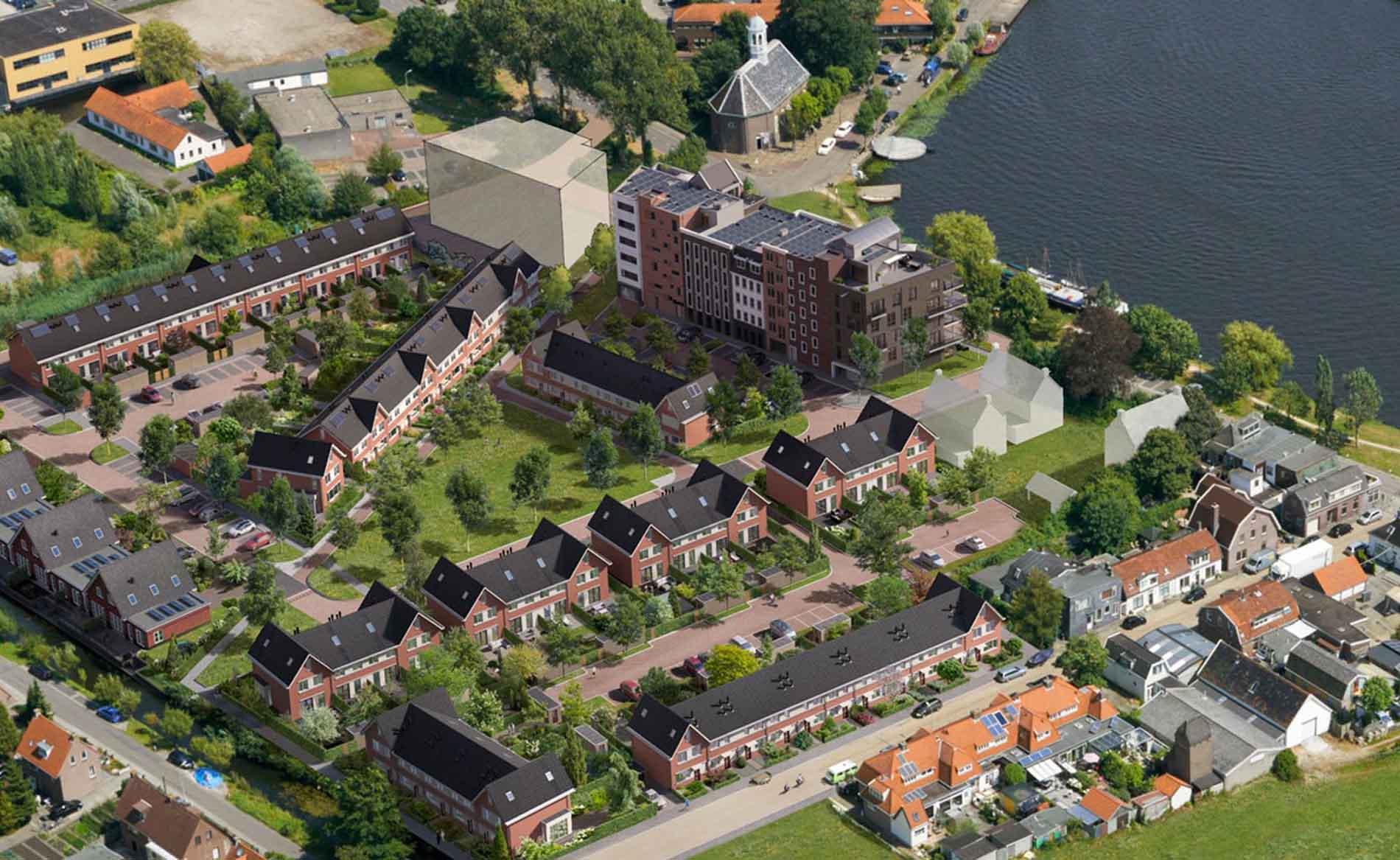 appartementen architect woningbouw Amstel Regentes Uithoorn BBHD architecten