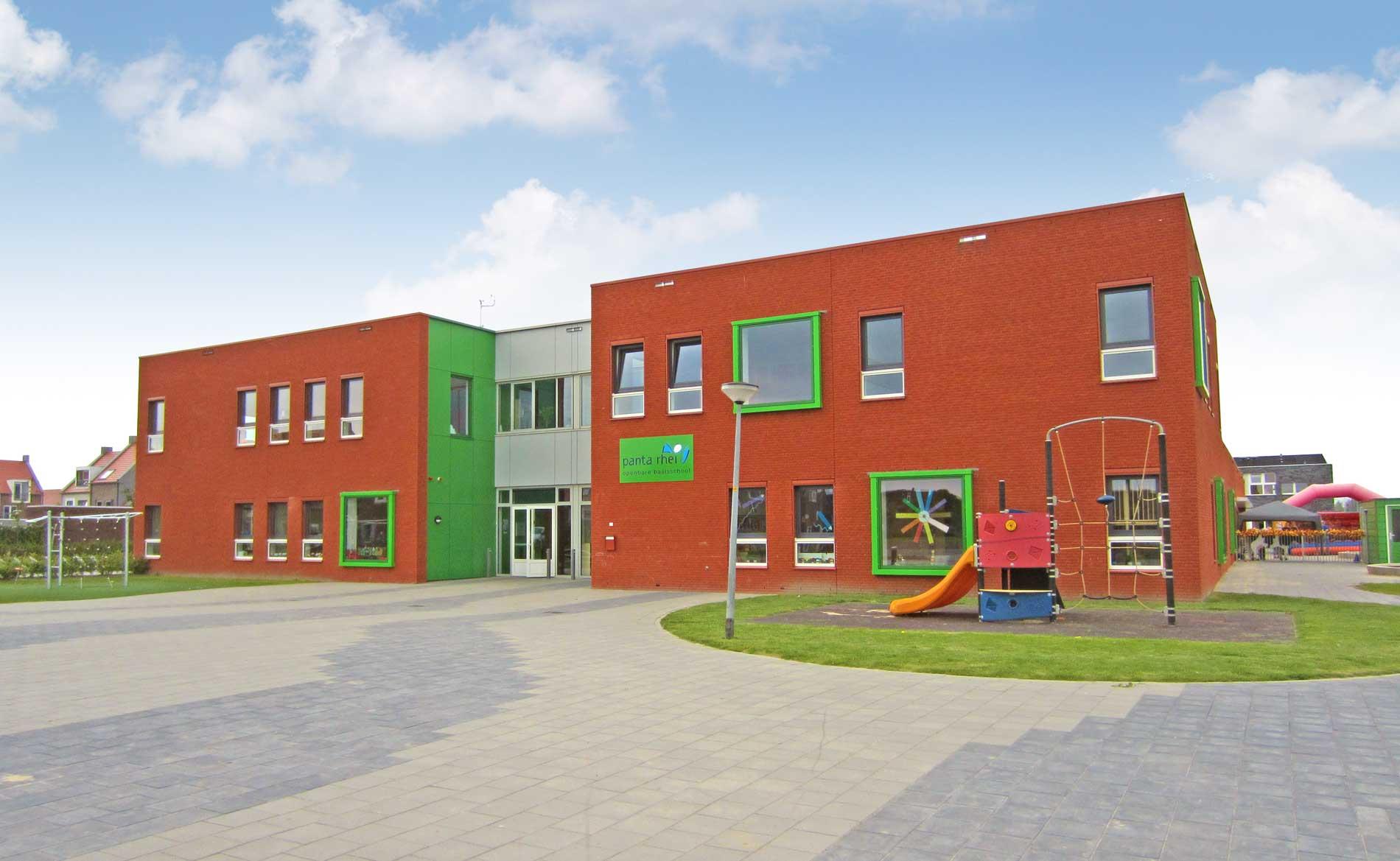 architect brede school basisschool Panta Rhei Zeewolde BBHD architecten