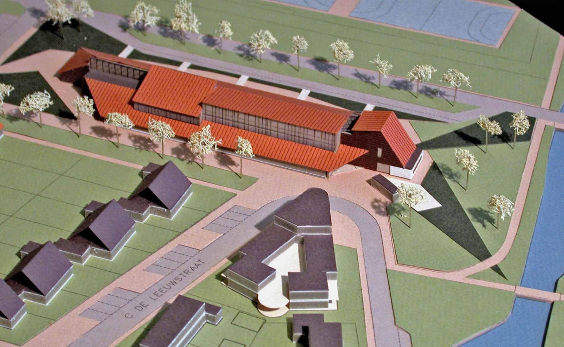 school architect basisschool St. Jozef 't Zand BBHD architecten maquette
