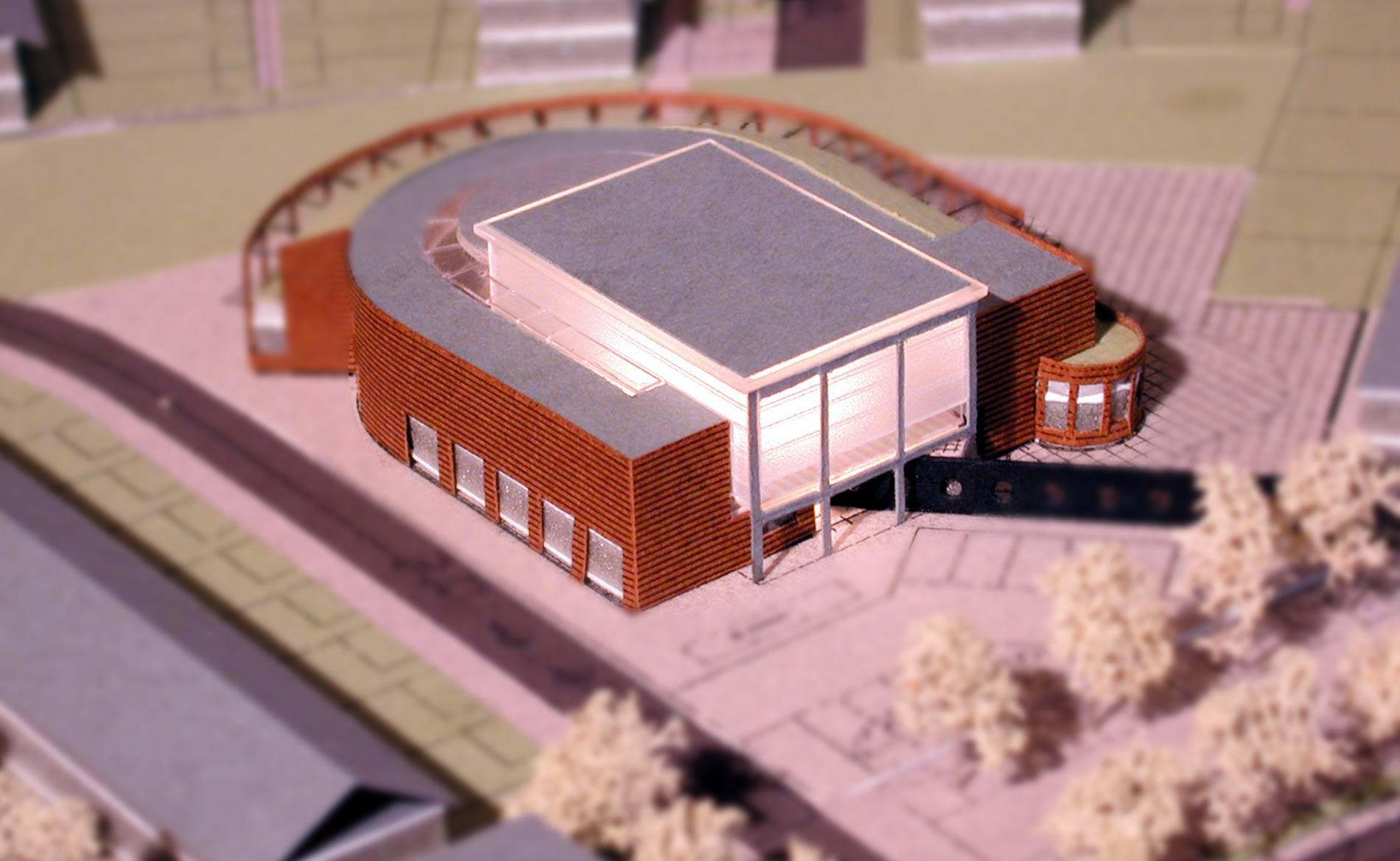 architect brede school Vroonermeer Alkmaar BBHD architecten maquette