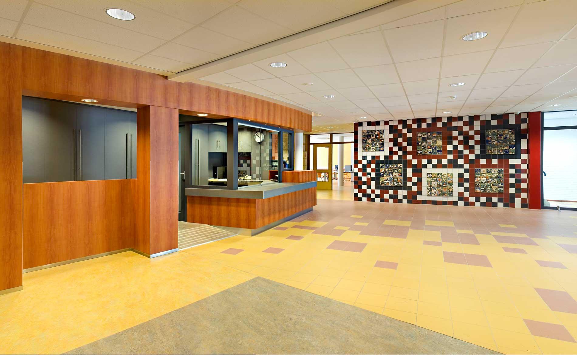 architect school voortgezet onderwijs Jan Arentsz Alkmaar BBHD architecten