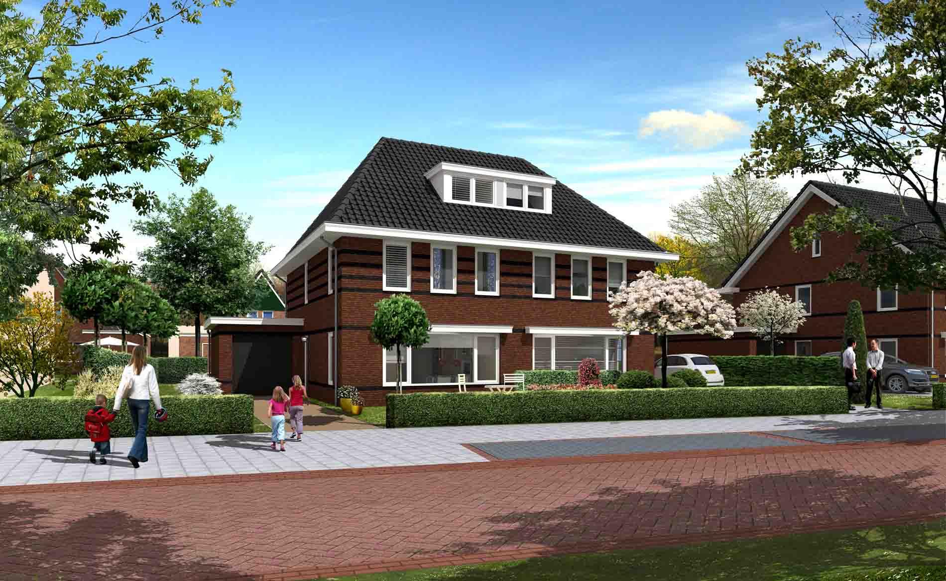 jaren 30 woning architectuur westerdel Langedijk BBHD architecten