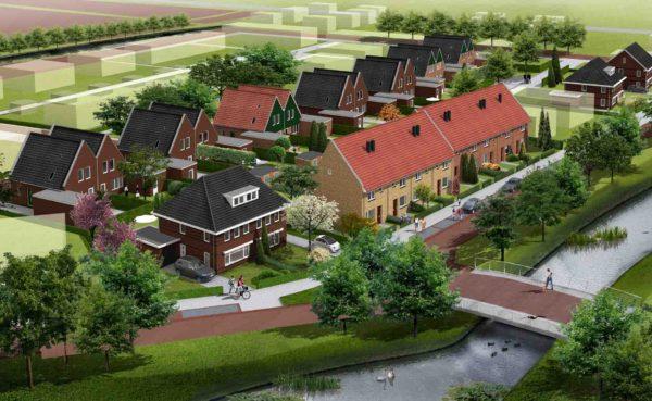 Dorps wonen westerdel Langedijk BBHD architecten