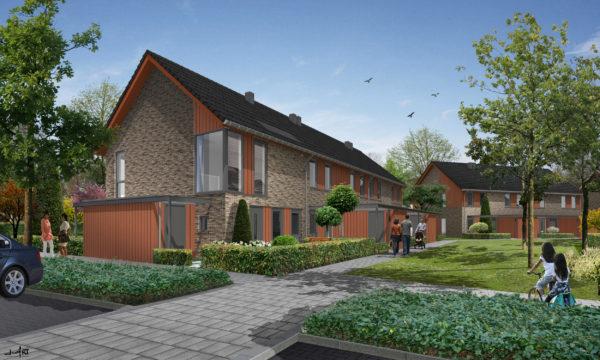 architect woningbouw nieuwbouwwijk Albert's Hoeve Castricum BBHD architecten