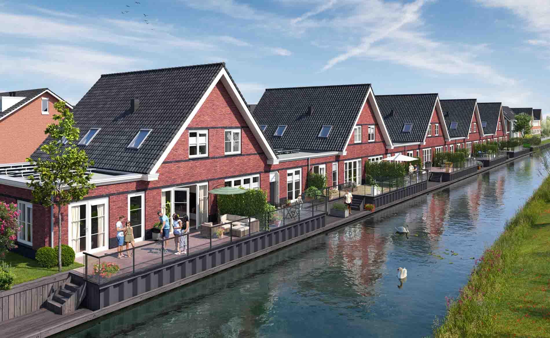 architect woningen woningbouw jaren '30 architectuur nieuwbouwwijk Regentes Uithoorn Thamerweg BBHD architecten