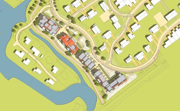 stedenbouwkundig plan ontwerp appartementengebouwen Duingeest Monster duinlandschap BBHD architecten