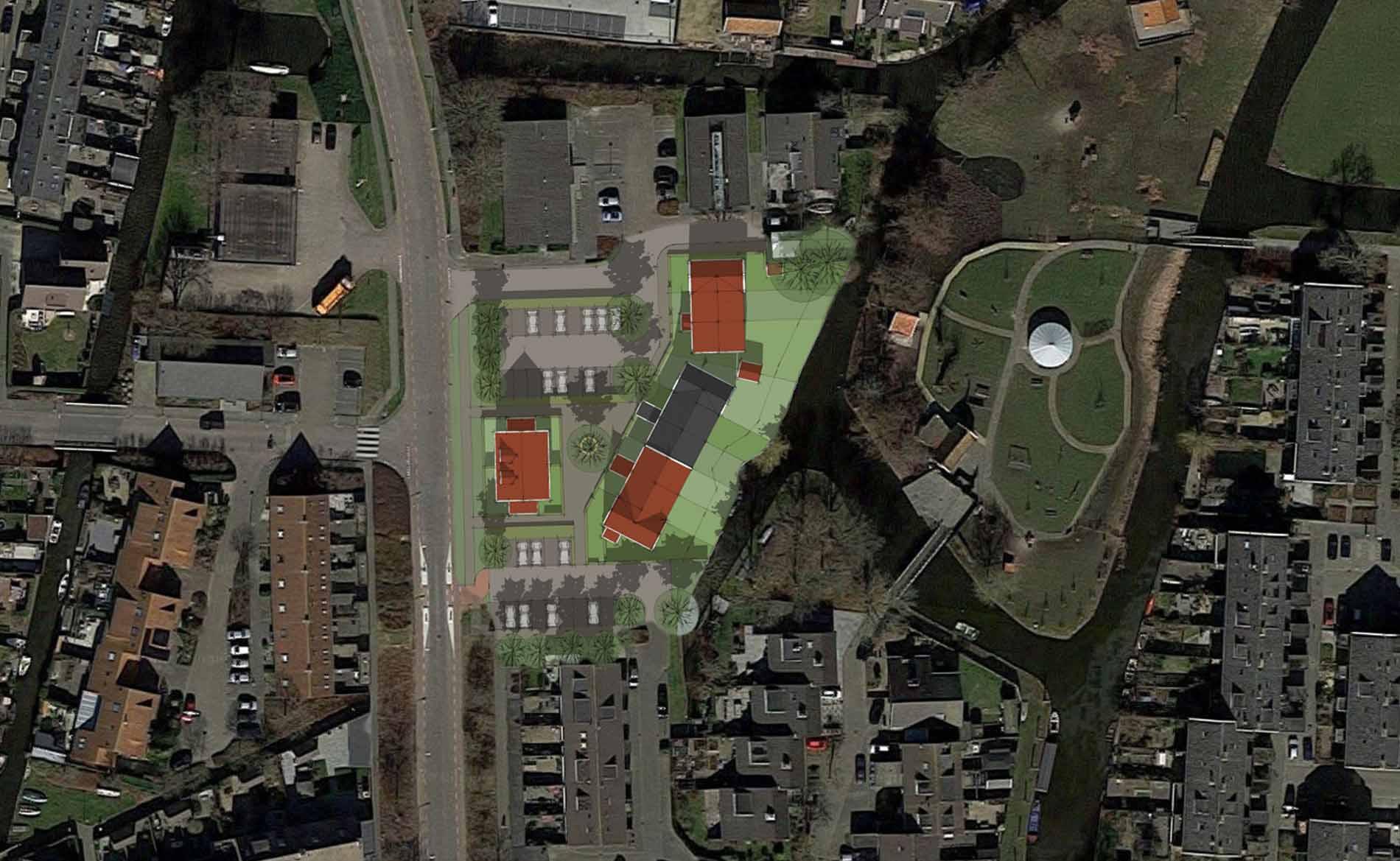 stedenbouwkundig plan ontwerp dorps Sloep De Rijp BBHD architecten