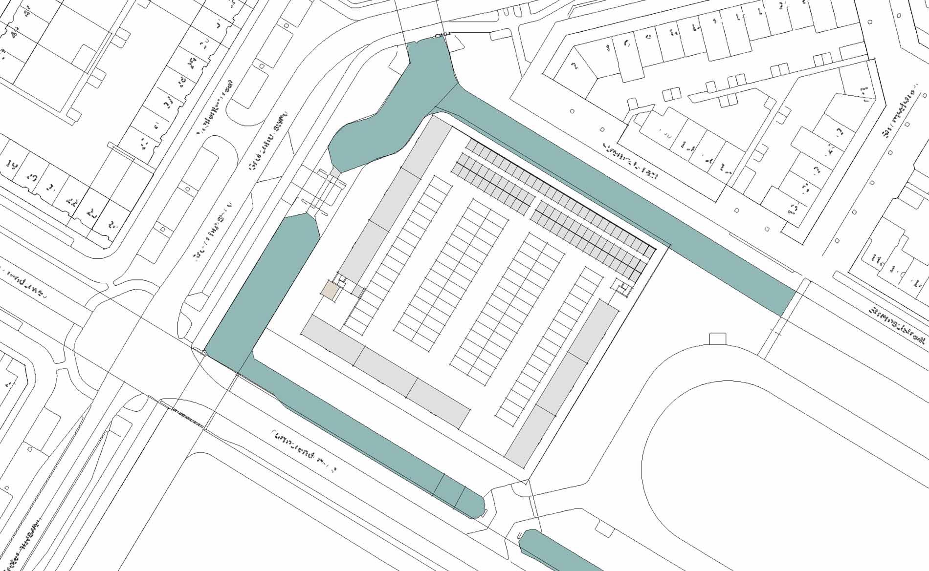 haalbaarheisstudie stedenbouwkundig plan woningbouw Purmerend BBHD architecten