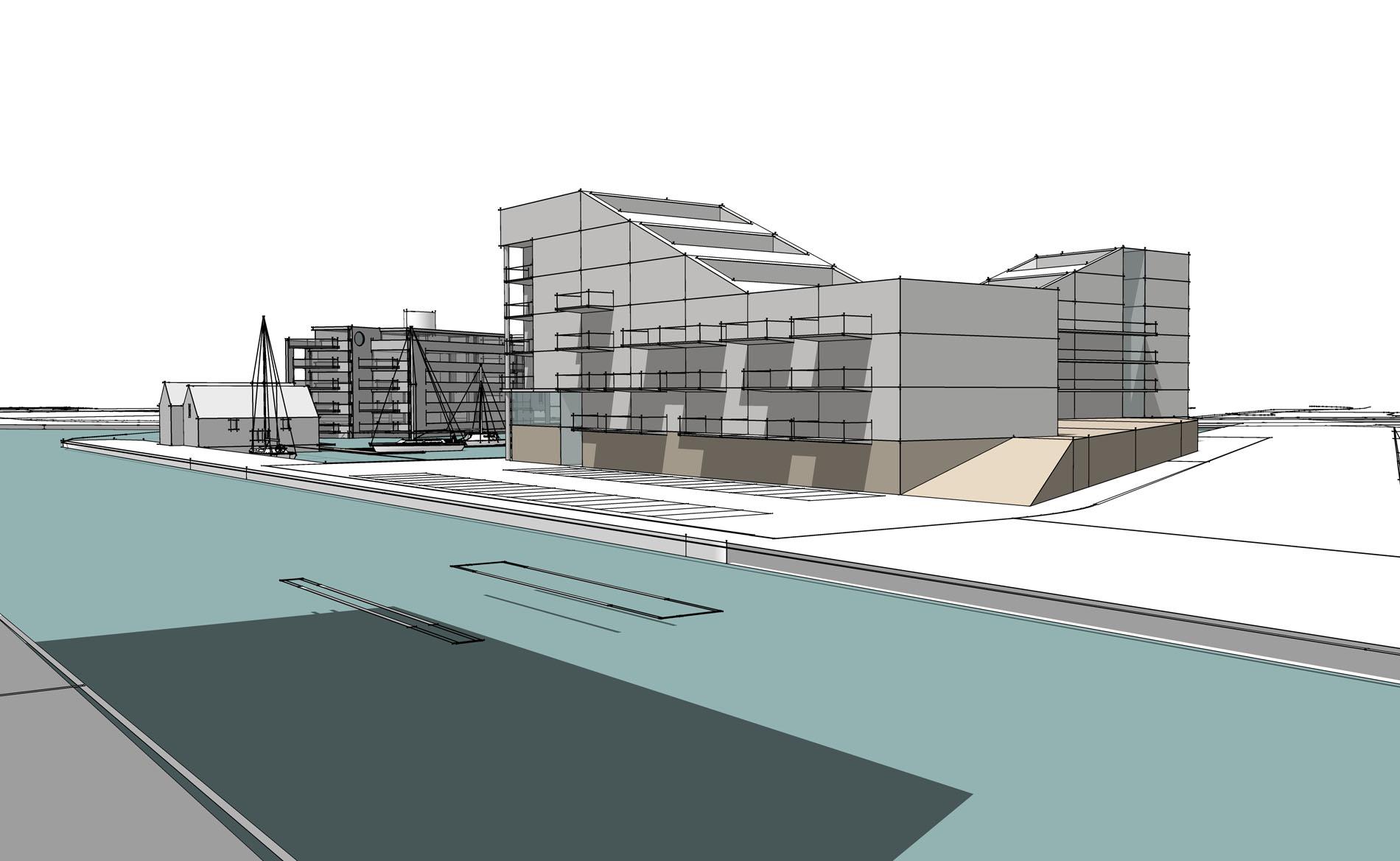 haalbaarheidsstudie stedenbouwkundig plan woningbouw Haven Almelo BBHD architecten