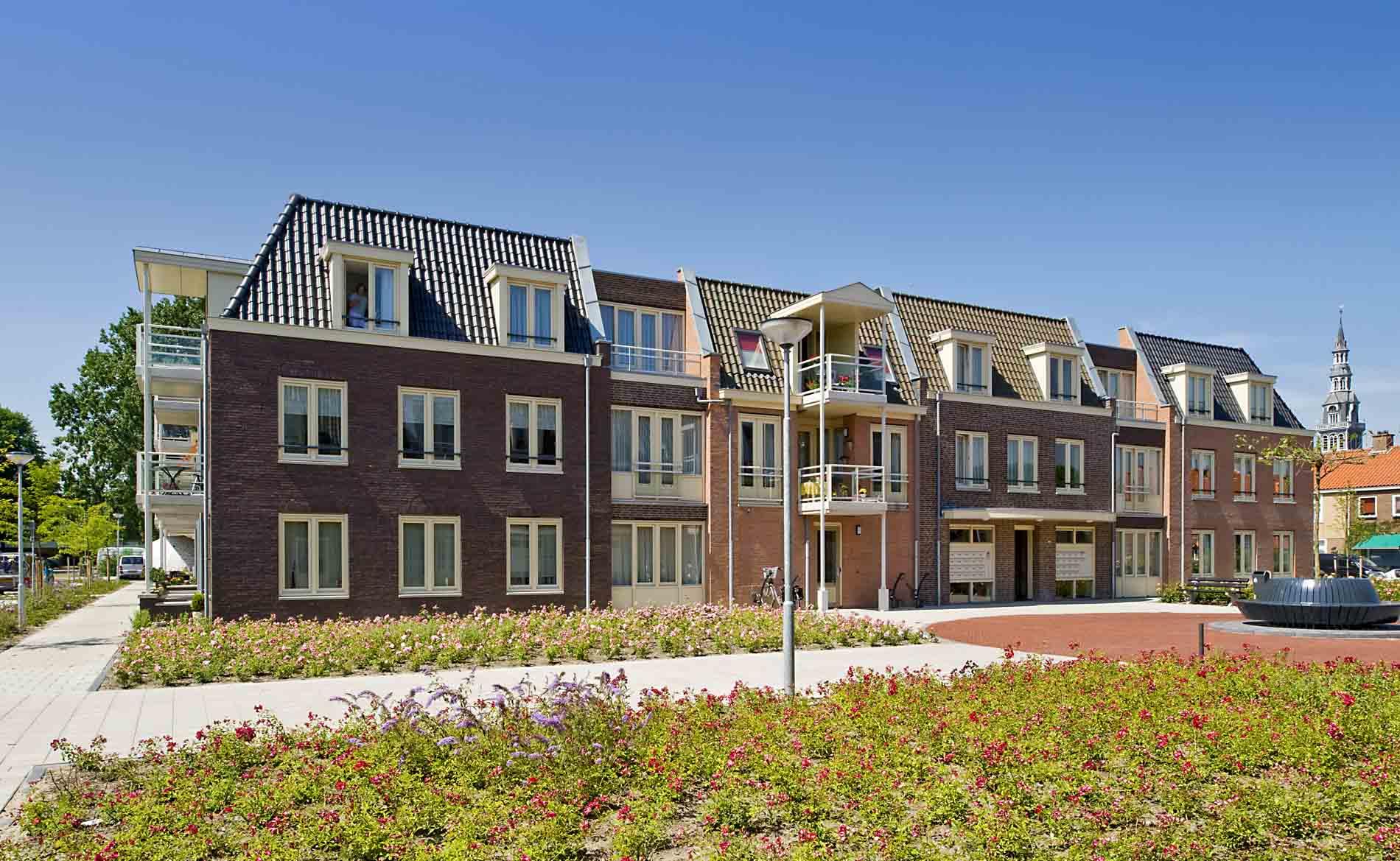 architect seniorenappartementen woningbouw Rozestaete Heemskerk BBHD architecten