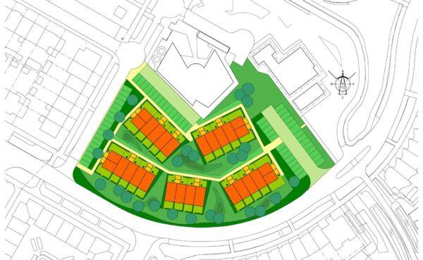 stedenbouw stedenbouwkundig plan ontwerp woningbouw Albert's Hoeve Castricum BBHD architecten