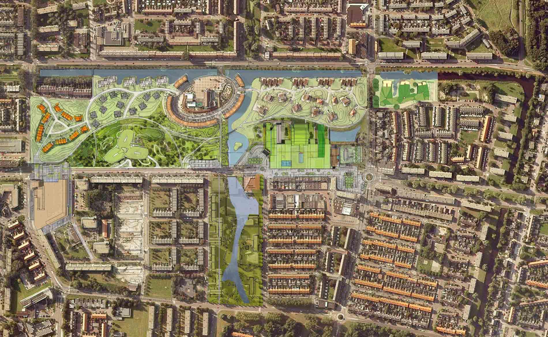 stedenbouw stedenbouwkundig ontwerp Duinpark Den Helder BBHD architecten