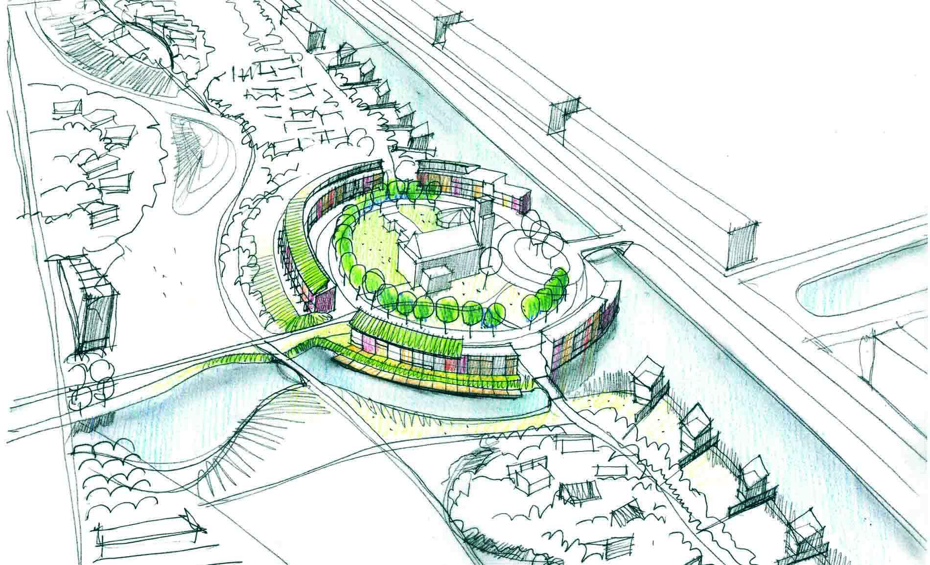 stedenbouw stedenbouwkundig ontwerp woningbouw Duinpark Den Helder BBHD architecten