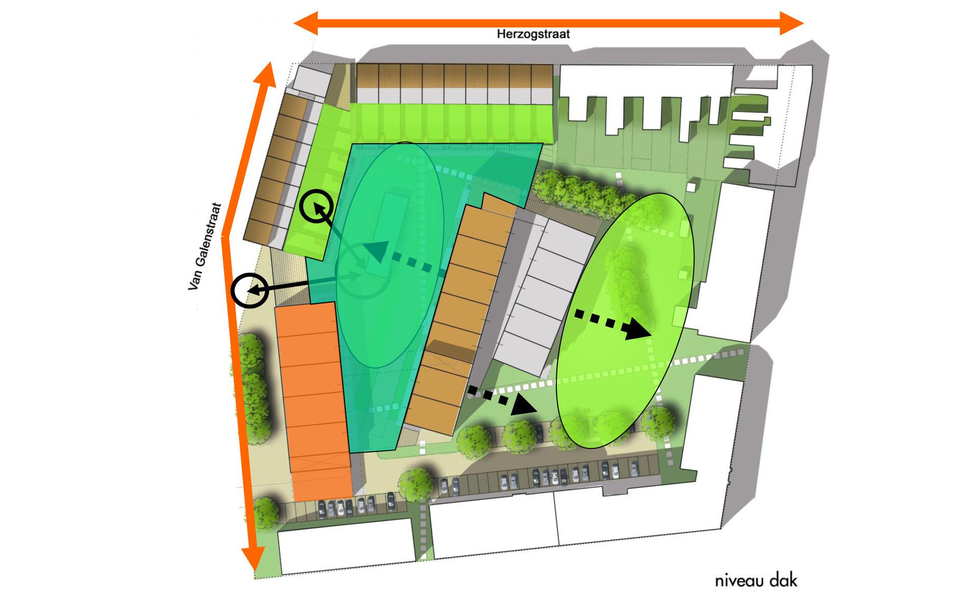 stedenbouw stedenbouwkundig ontwerp plan woningbouw lidwina-terrein Den Helder BBHD architecten