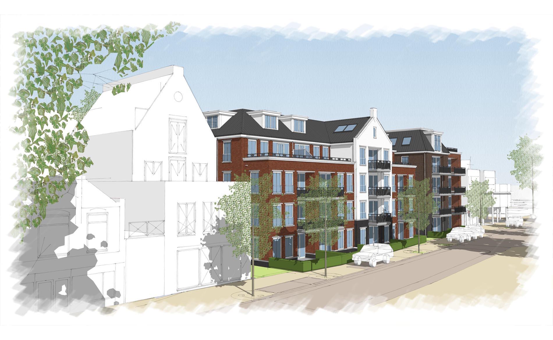 architect woningbouw appartementen participatie Schagen BBHD architecten