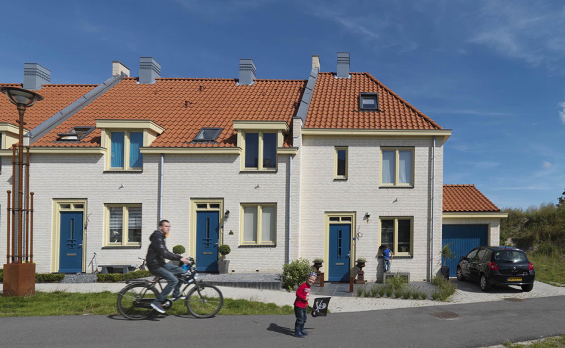 architect woningbouw woningen kustarchitectuur Visserdorp Duinpark Den Helder duinen BBHD architecten