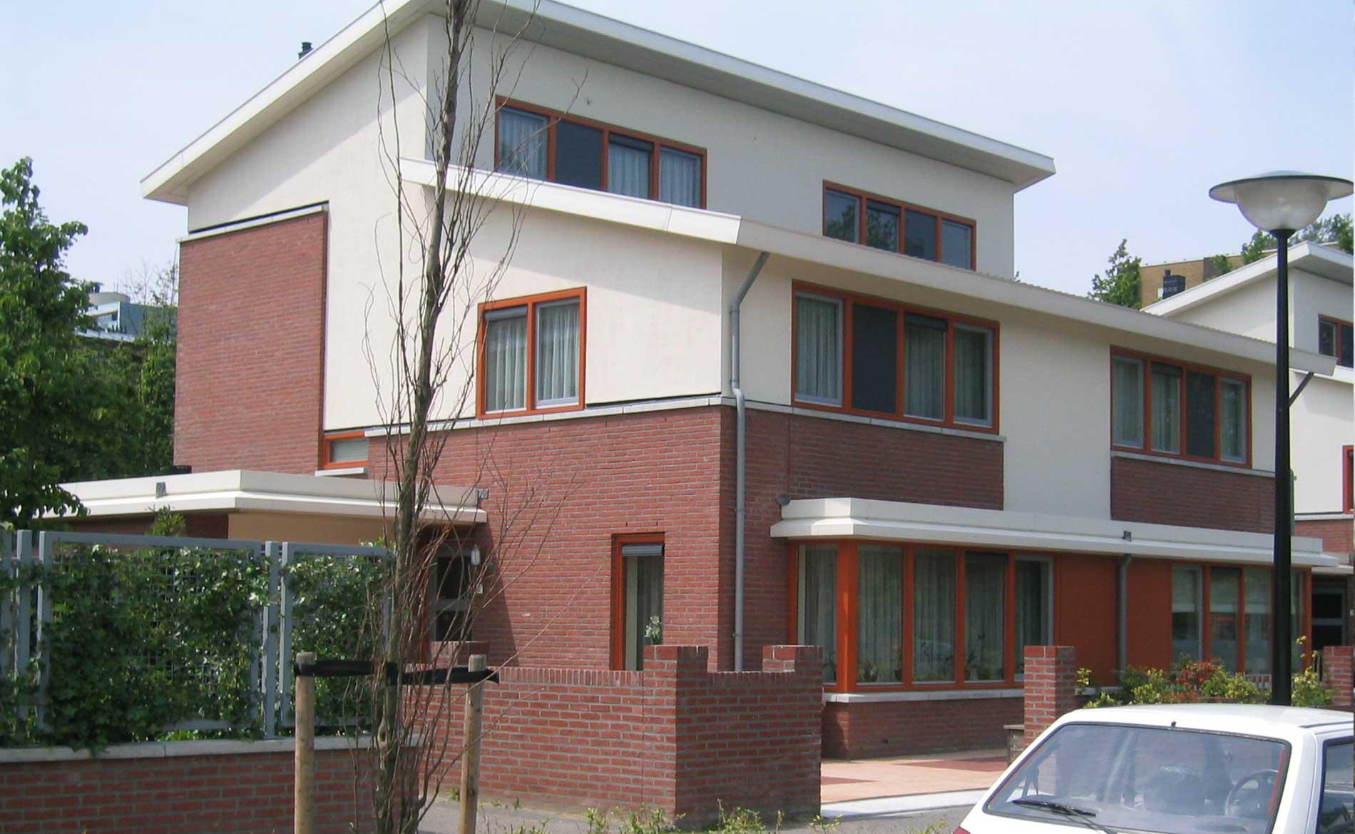 Meerestein Beverwijk Fase 2-3 stadsvernieuwing grondgebonden woningen-park BBHD architecten