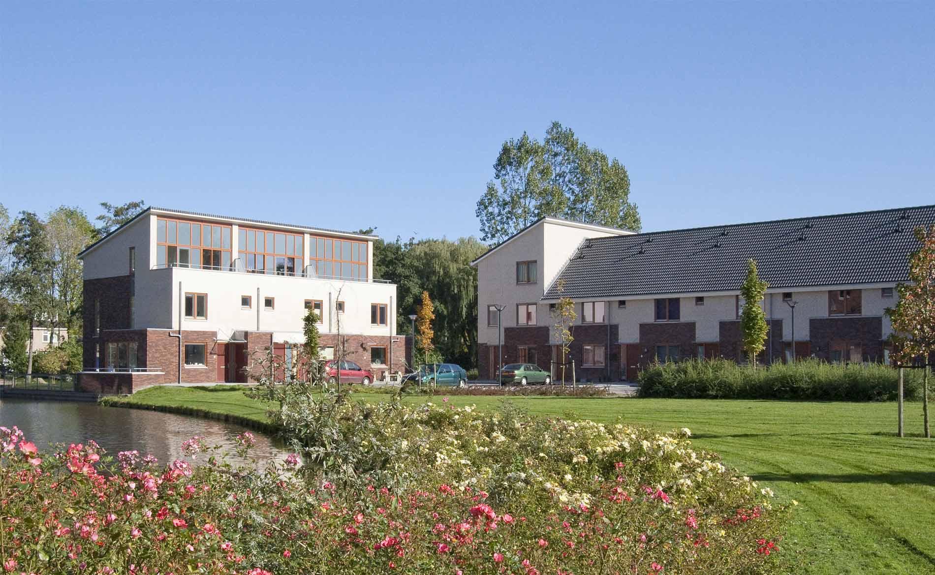 Stadsvernieuwing Heemskerk Waterrijck stedenbouwkundig plan park BBHD architecten