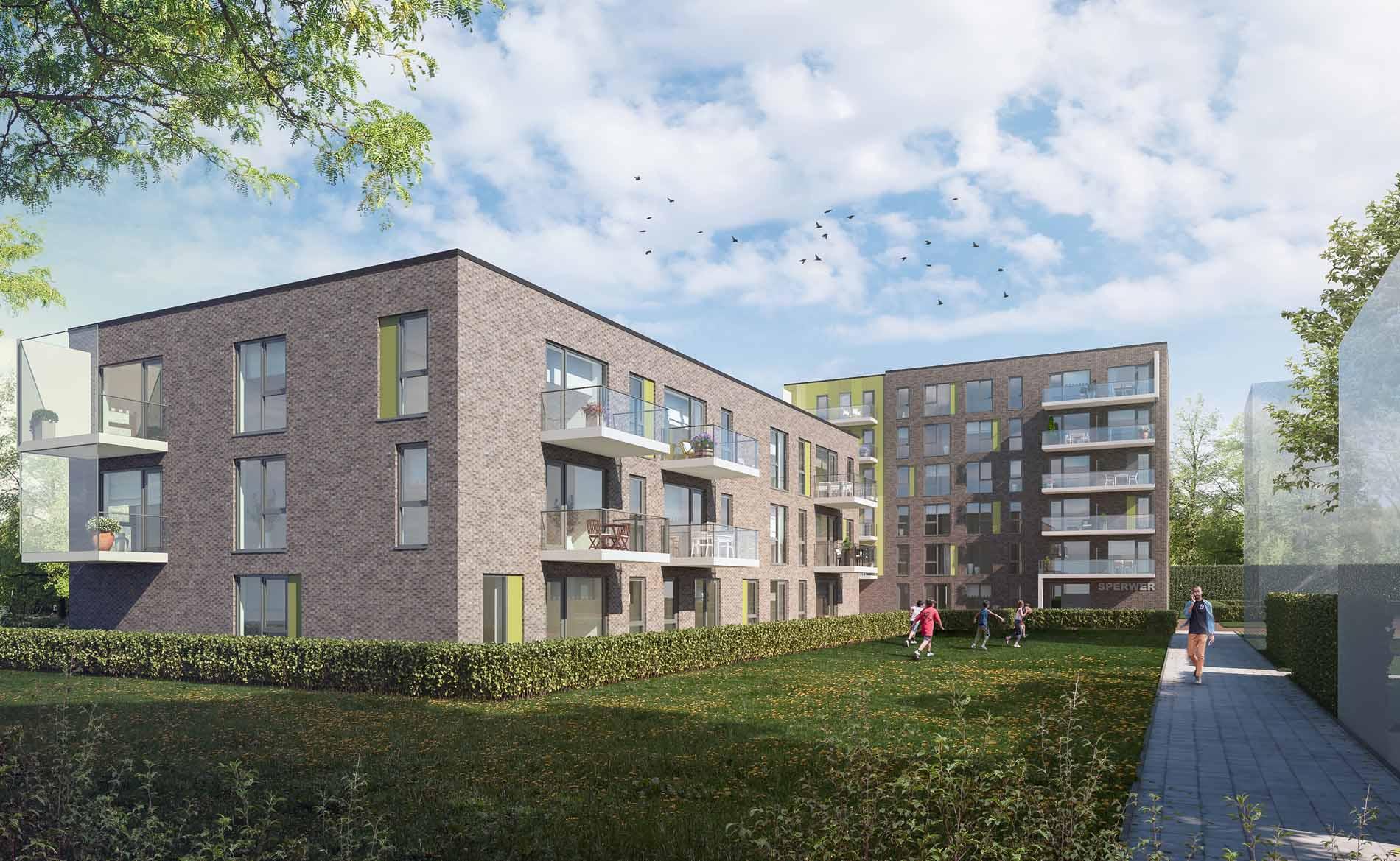 architect appartementen Sperwerstraat Alkmaar