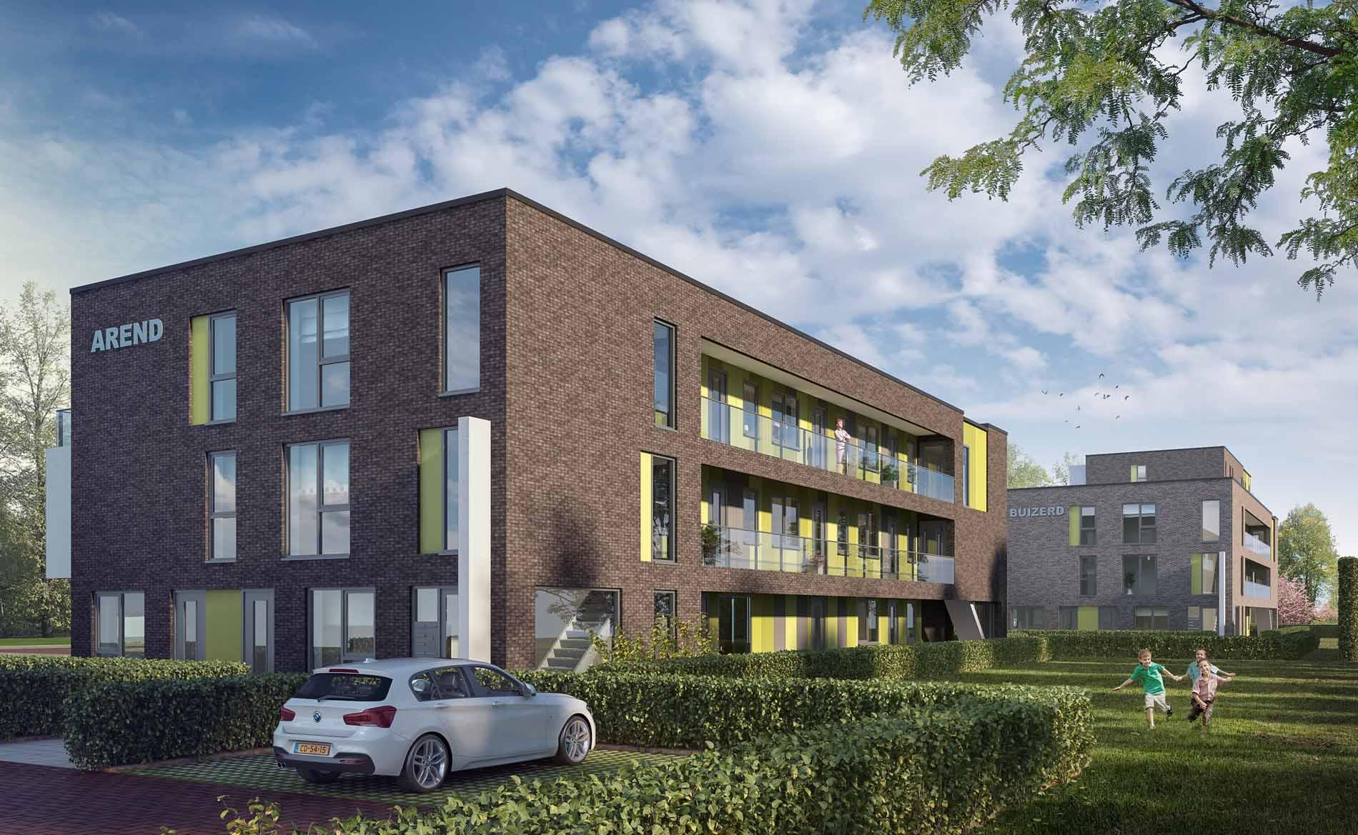 rchitect appartementen Sperwerstraat Alkmaar