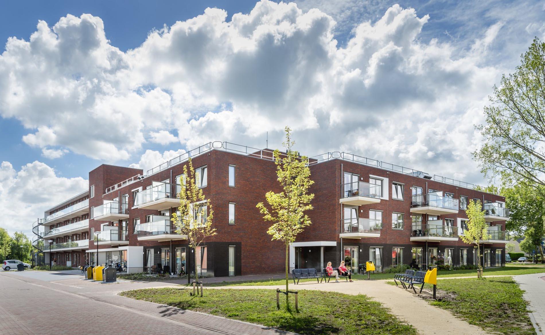 architect woonzorggebouw woonzorgcentrum bejaardenhuis verpleeghuis aanleunwoningen appartementen sociale huur architectuur Hugo Waard Heerhugowaard