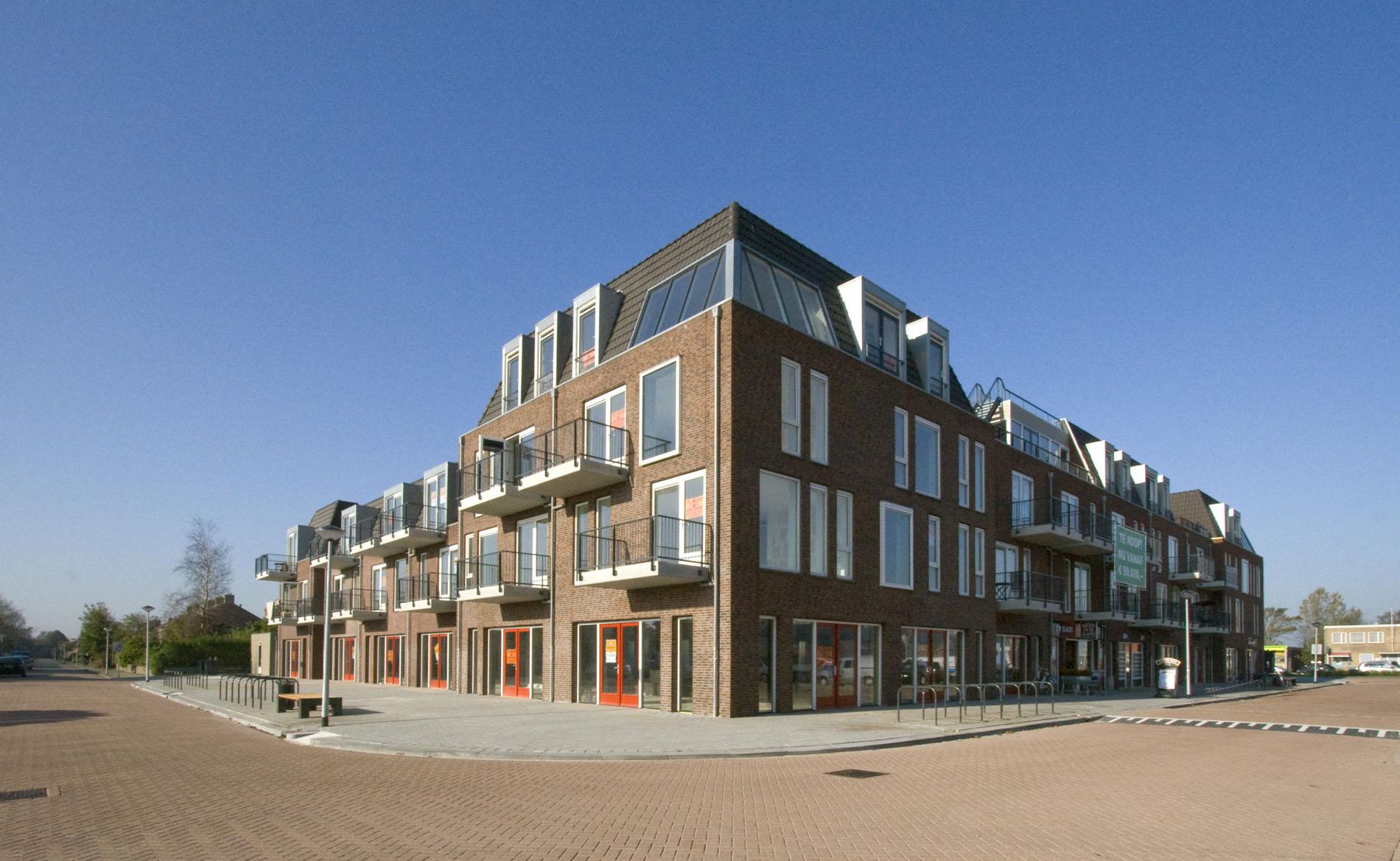 architect winkels appartementen Ceresplein Breezand architectuur BBHD architecten