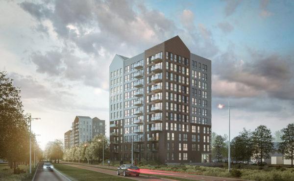 architect appartementen Slotvrouwe Heeskerk BBHD