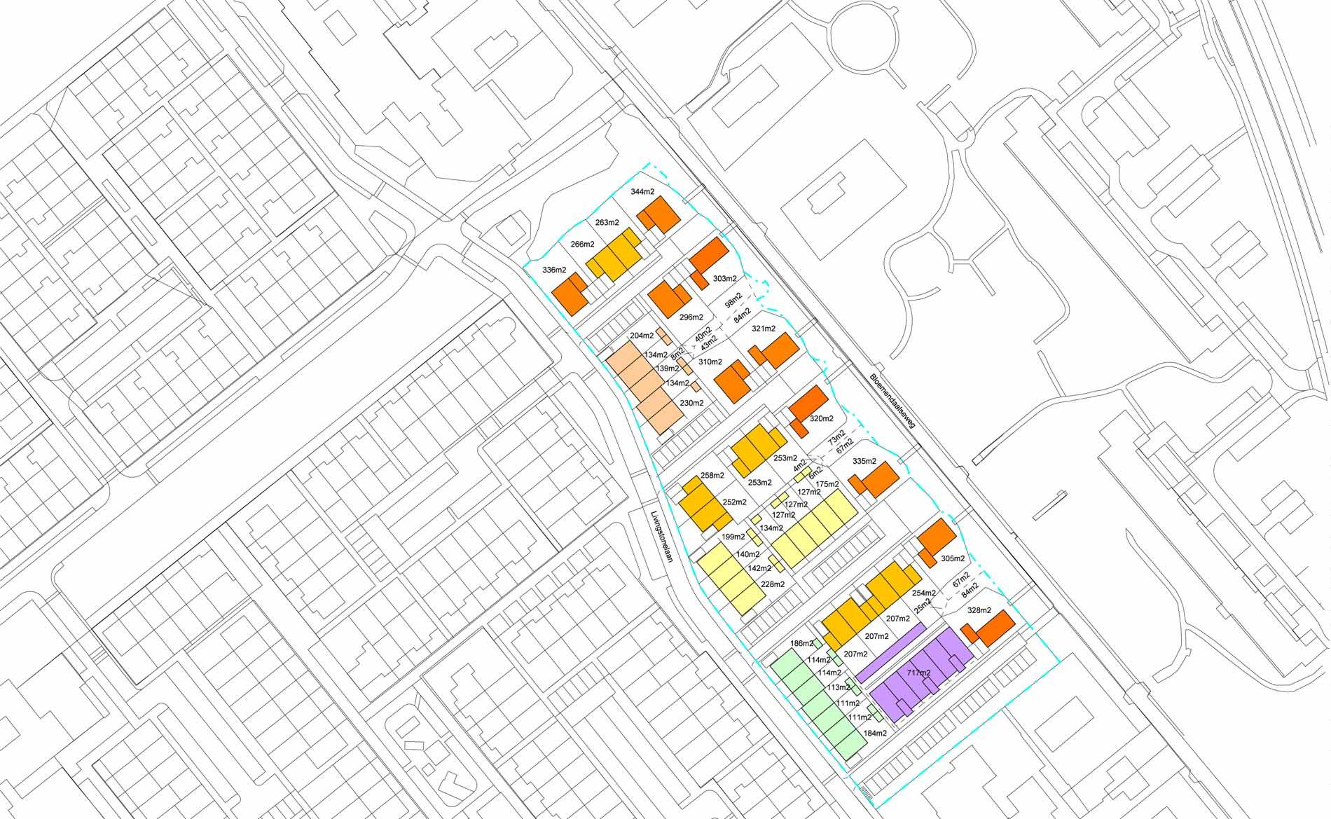 stedenbouwkundig plan Livingstonelaan Gouda woningbouw BBHD architecten