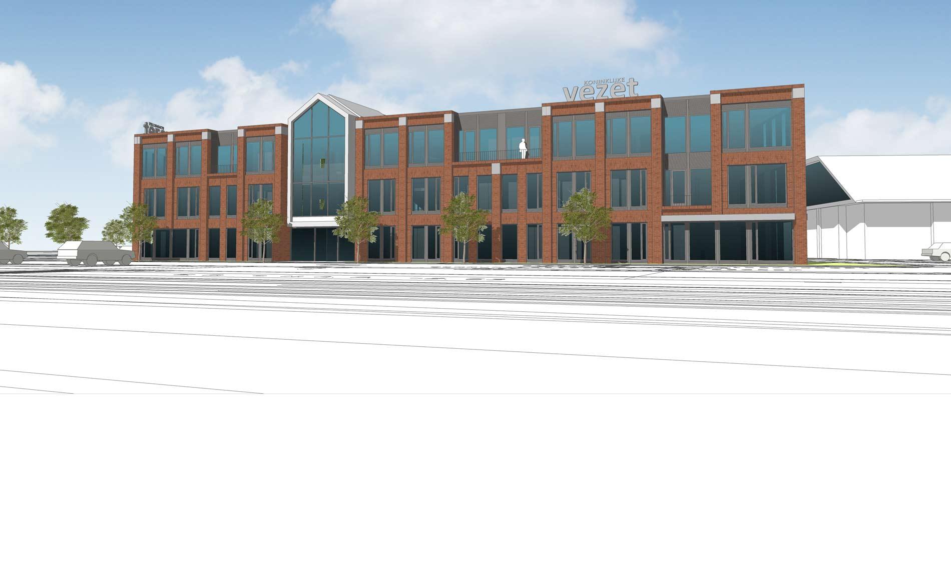 architect kantoor Hoofdkantoor Koninklijke Vezet Warmenhuizen BBHD architecten