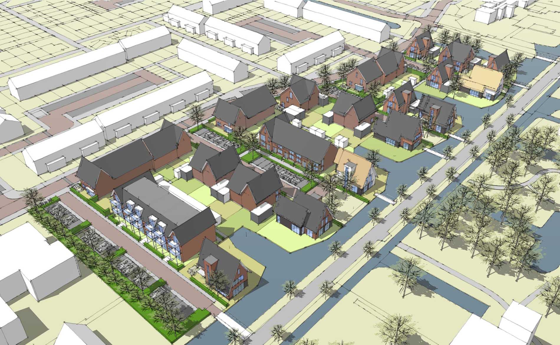 BBHD architecten Livingstone Park Gouda