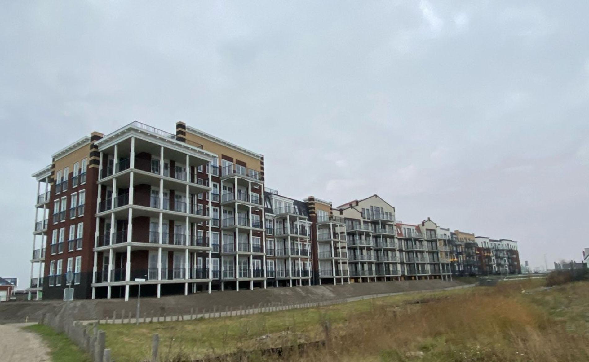 architect Duingeest Monster appartementengebouw